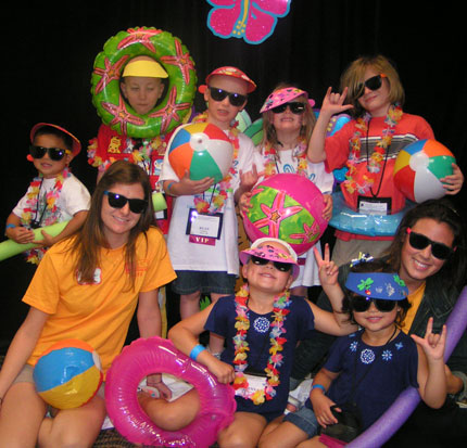 """When kids are involved in an event, it """"is perceived as being more successful and offering real benefits,"""" says Garen Gouveia, president of Corporate Kids Events. Credit: Corporate Kids Events"""