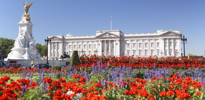 London's Buckingham Palace.
