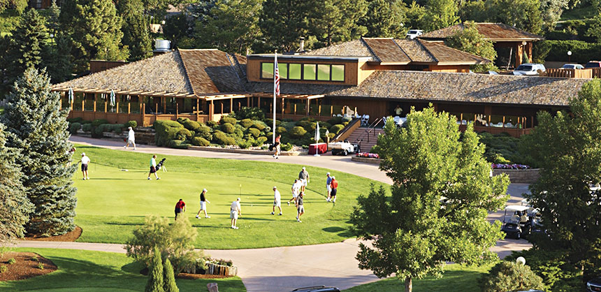 In addition to the IACC-approved 40,000-sf conference center with 38 meeting rooms, the 316-room Cheyenne Mountain Resort, Colorado Springs, CO, boasts 18 holes of championship golf, swimming pools, tennis courts and a 35-acre lake. Credit Cheyenne Mountain Resort