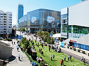 Moscone Center in downtown San Francisco.