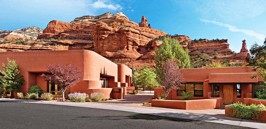 Enchantment Resort, in the red rock paradise of Sedona, Arizona.