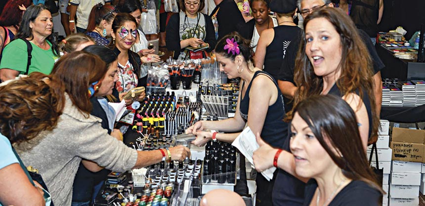 The Face & Body Art International Convention in Fort Lauderdale attracted an international attendance of 450 professionals and enthusiasts. Credit: Draco Noir Photography