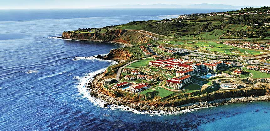 Terranea Resort, a 102-acre private peninsula paradise, is surrounded on three sides by the Pacific in Rancho Palos Verdes, California.