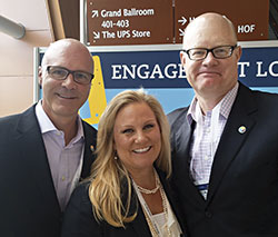 """Synchronicities"" members (left to right) Jay Burress, president and CEO of the Anaheim Orange County VCB; Casandra Matej, director, San Antonio CVB; and Tom Noonan, president and CEO of Visit Baltimore."