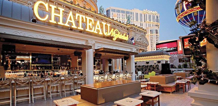 Las vegas beyond the ballroom for Chateau hotel paris