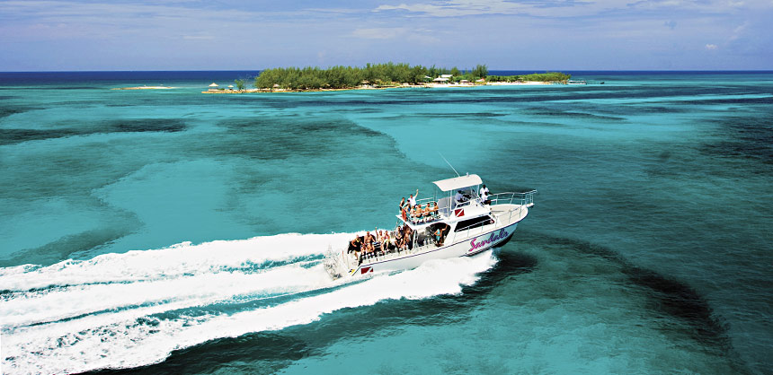 Bluewater adventures abound at Sandals Royal Bahamian, Nassau, Bahamas.