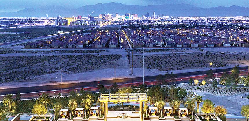 With the Las Vegas Strip glittering in the distance, M Resort Spa Casino is just far enough removed from the action to minimize distractions, yet only a shuttle ride away.