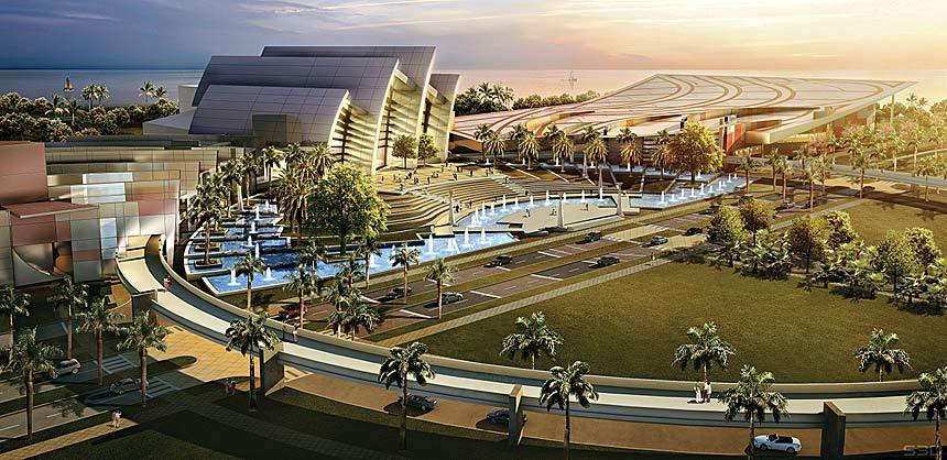 Panama's Amador Convention Center will open in 2015.
