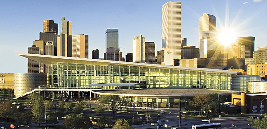 The Colorado Convention Center in Denver.