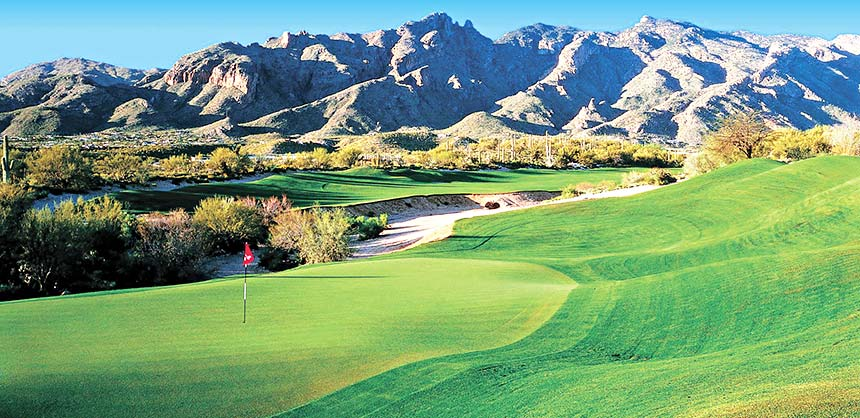The Westin La Paloma Resort & Spa in Tucson offers 27 holes of Jack Nicklaus Signature golf.