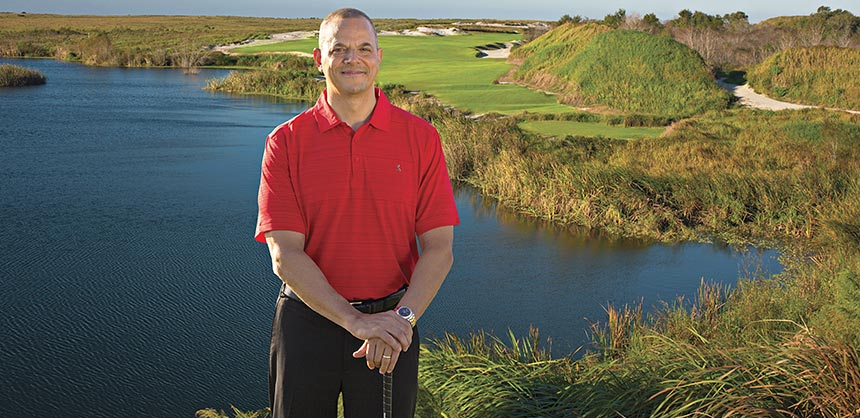 Keith Roher, president of Zeno Office Solutions, plans to start holding quarterly golf outings for Zeno clients at Streamsong Resort.