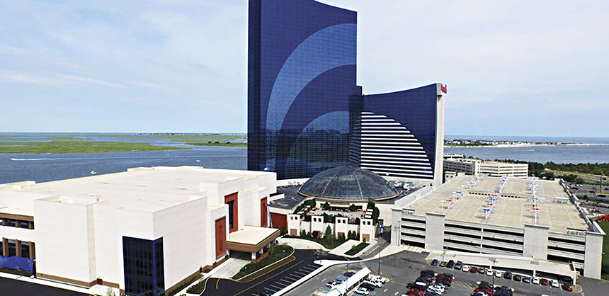 The largest convention center hotel complex from Baltimore to Boston, Harrah's Waterfront Conference Center is a welcome addition to Atlantic City.