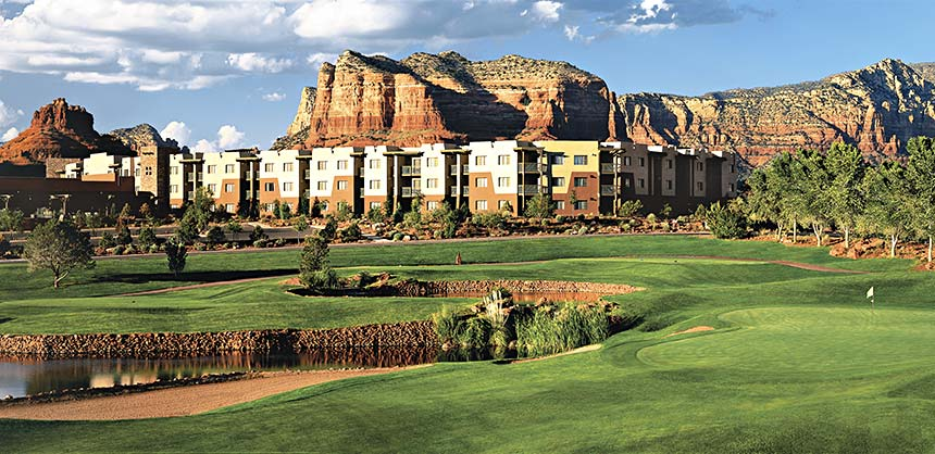Hilton Sedona Resort at Bell Rock.