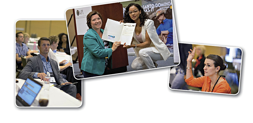 Many participants at MPI's 2015 WEC, held in August in San Francisco, earned certificates at pre-conference sessions. Attendees at WEC learn about certifications, certificates and designations in the meetings and event industry and how they can help propel one's career. Credits: Orange Photography