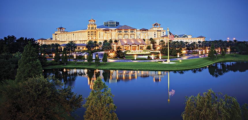 The Gaylord Palms Resort and Convention Center hosted UBM's 2015 Enterprise Connect conference.