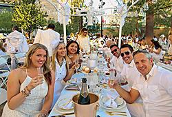 Diner en Blanc Las Vegas