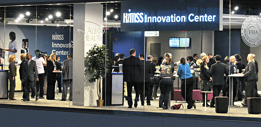 The Global Center for Health Innovation in downtown Cleveland, Ohio, houses the HIMSS Innovation Center, which has 30,000 sf of space. Credit: HIMSS Innovation Center
