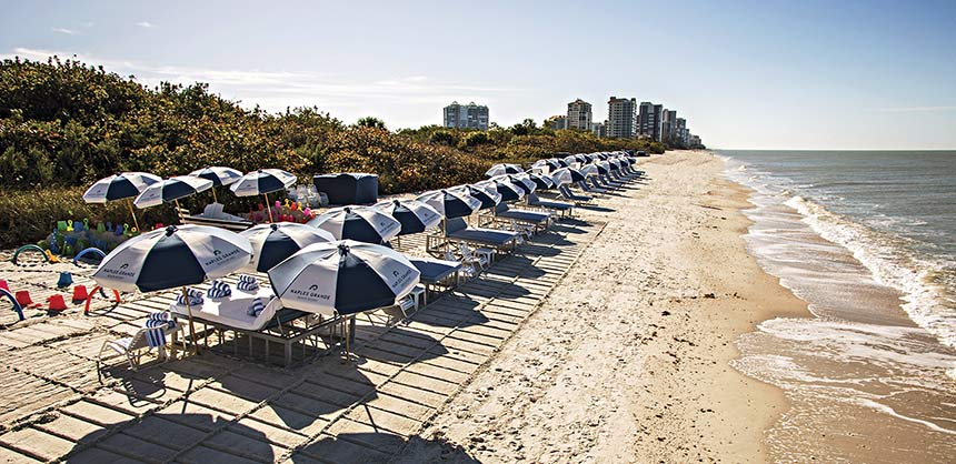 Clam Pass Beach at Naples Grande Beach Resort. Credit: Naples Marco Island Everglades CVB