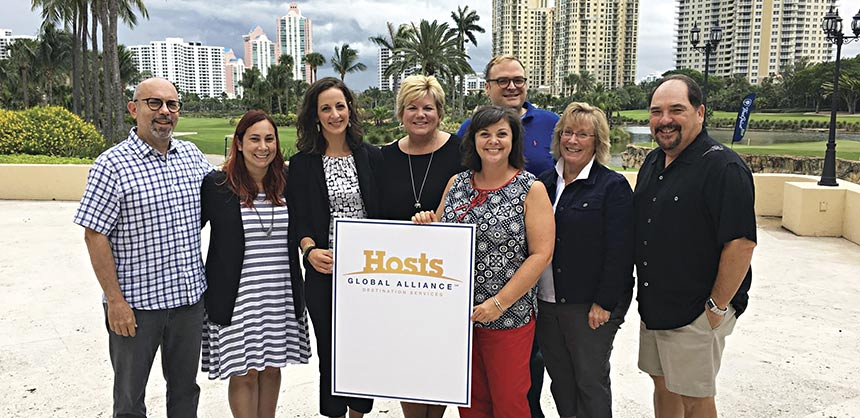 The HGA Client Advisory Board members and staff who met in Miami in June included (l to r) Jeff Broudy, Denise Marie Germano, Christi Heacox, Patti Palacios, Marty MacKay, Stuart Ruff, Lisa Sykes and Terry Epton. Credits both pages: Specialty Imaging