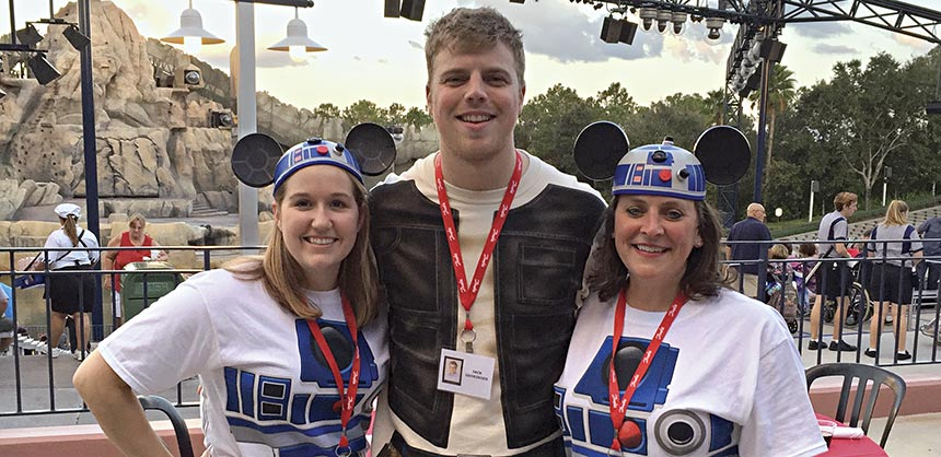 "The ""Star Wars"" theme helped the Danfoss Drives company meet their meeting objectives."