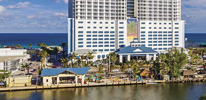 Margaritaville Hollywood Beach Resort near Fort Lauderdale, Florida.