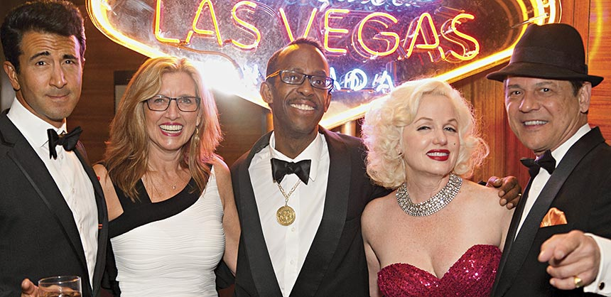 "A ""Rat Pack"" themed event created by Incentives by Design brought back the glamour of Las Vegas' heyday in the '60s, not to mention a memorable night for attendees. Credit:  Open Window Productions"