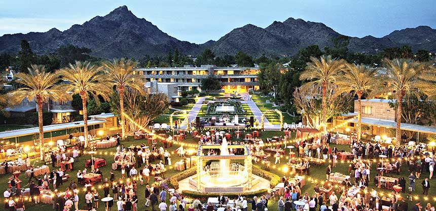 An event at the Arizona Biltmore, a Waldorf Astoria Resort in Phoenix.