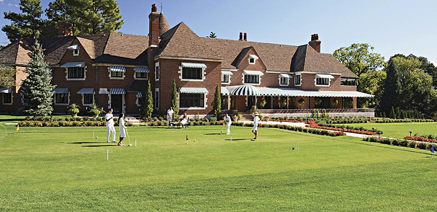 The Broadmoor recently debuted The Estate House, a 12,000-sf historic mansion.