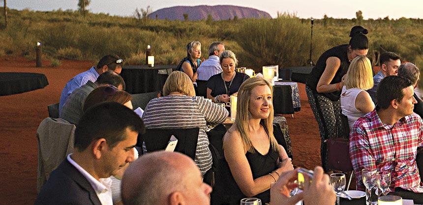 Incentive qualifiers find destination motivation in far-flung locales such as Australia. Credit: Tourism Australia