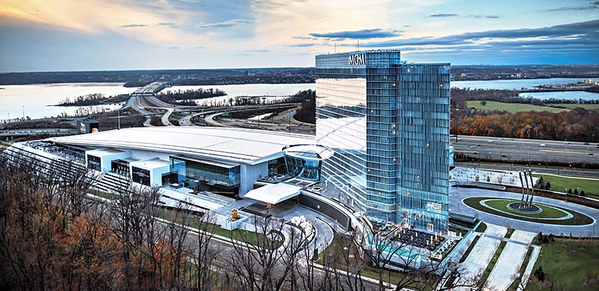 MGM National Harbor overlooking the Potomac River debuted in December with 50,000 sf of meeting and event space.