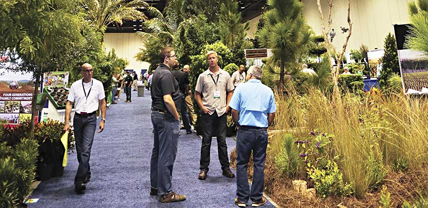 The Florida Nursery, Growers and Landscape Association's Landscape Show in Orlando. Credit: FNGLA