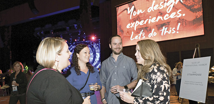 ASAE's annual Xperience Design Project helps attendees think differently about meetings. Credit: ASAE