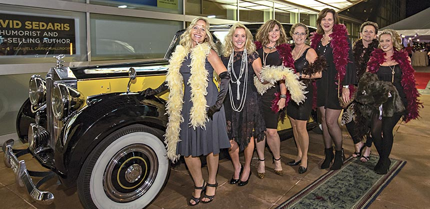 The Roaring '20s and a surprise speakeasy after-party were central themes for a reception at HelmsBriscoe's Western Regional Meeting in Denver. Credit: Black Cherry Photo