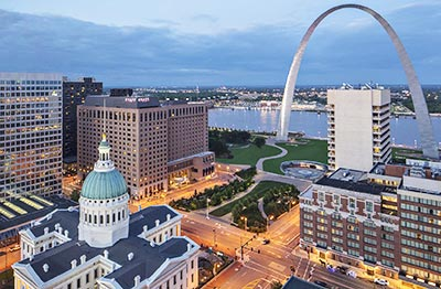 Hyatt Regency St. Louis at the Arch is newly renovated.