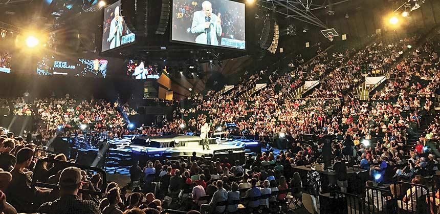 A Cru (Campus Crusade for Christ) staff conference. Credit: Tom Mills © Cru