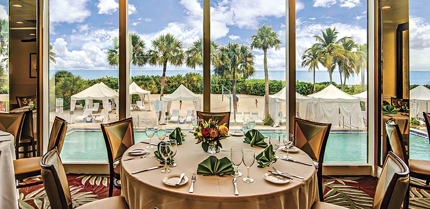 Gulf-front event space at Sundial Beach Resort & Spa on Southwest Florida's Sanibel Island.