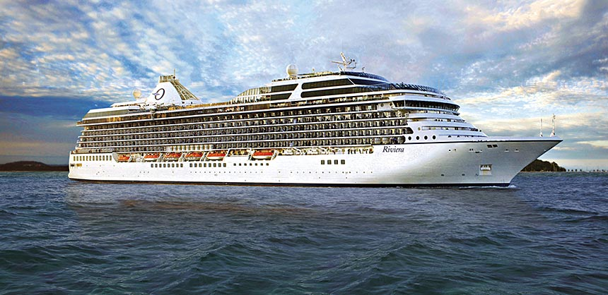 Oceania Cruises'  newest ships, including Riviera, offer unique activities ideal for intimate networking.