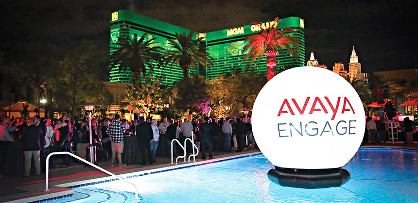 The International Avaya Users Group chose the MGM Grand for the February 2017 Avaya Engage meeting, with 2,600 attendees. Credits: IAUG