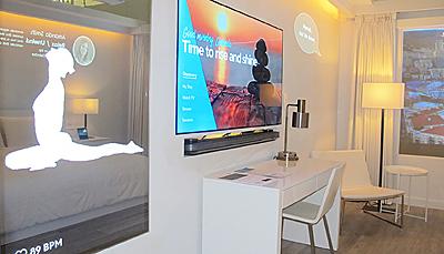 Marriott's IoT Guest Room Lab.