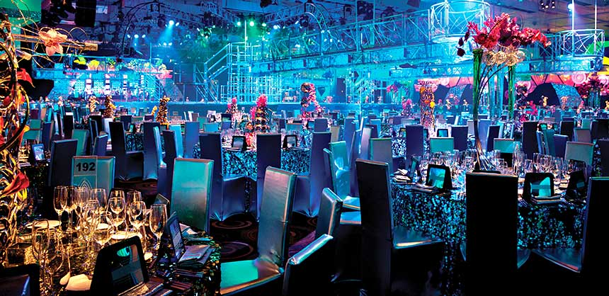 Aria Resort & Casino in Las Vegas offers 300,000 sf of meeting and event space with more on the way (shown here).