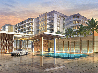 Hilton Cancun.