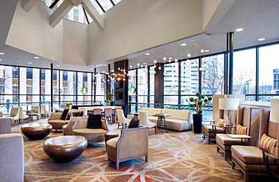 The lobby loft.