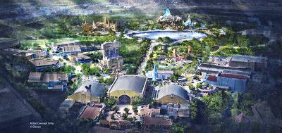 Disneyland Paris expansion rendering.