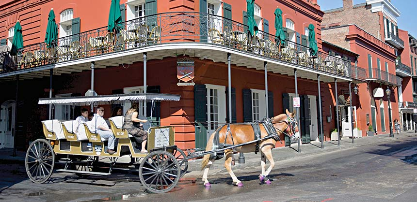 From New Orleans to Shreveport, Louisiana destinations distinguish themselves through the richness of their experiences, including unique venues, cuisine, music and colorful Cajun, Creole and French colonial-inspired culture and events such as Mardi Gras. Credit: New Orleans CVB