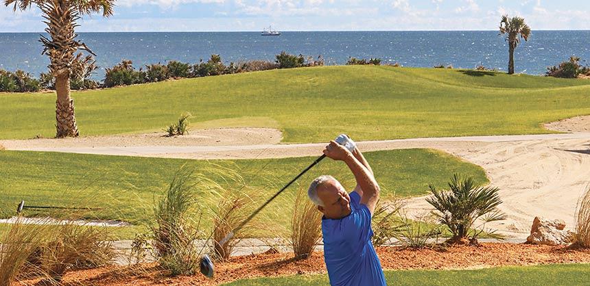 Brad Hauer, Director of Golf, Hammock Beach Resort, Palm Coast, FL Credit: Gregory Heck