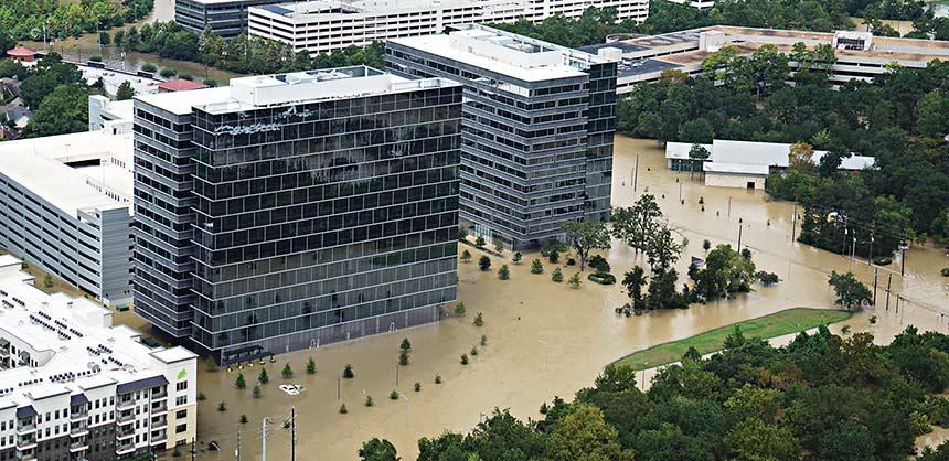 Hurricane Harvey wreaked havoc in Houston last year.