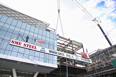 Moscone Center Topping Out