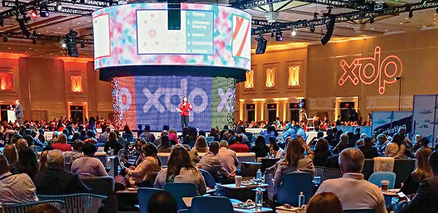 The event design firm Hargrove imagined and built a holistic, immersive event environment at ASAE's recent Xperience Design Project. Credits: Zoeica Images