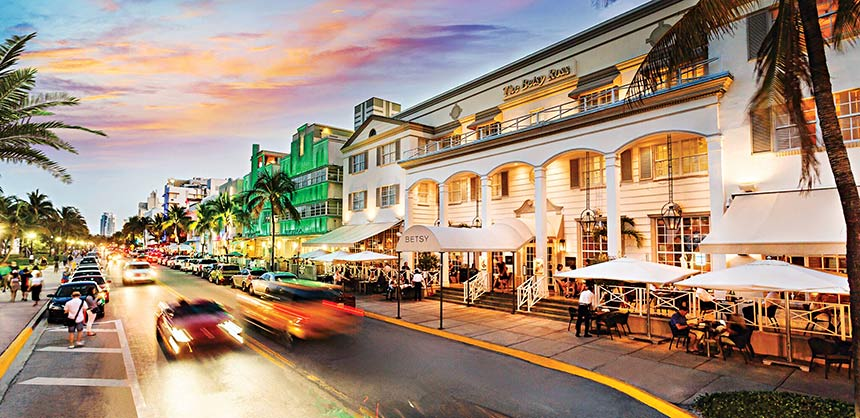 The Betsy South Beach on Ocean Drive was recently expanded. Credit: The Betsy South Beach