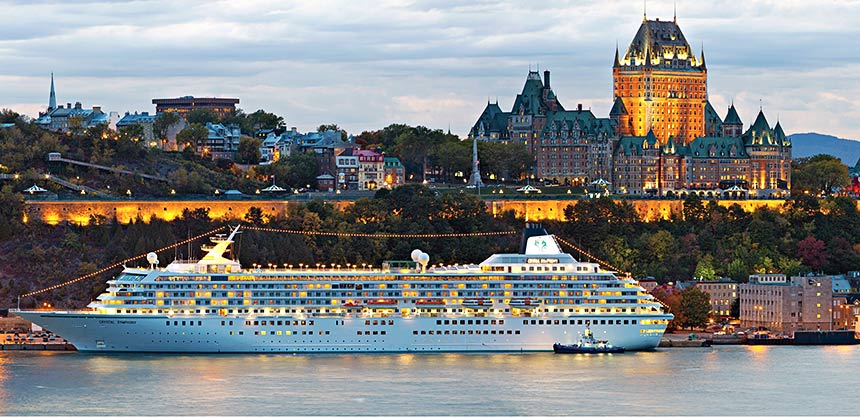Panoramic view of the Quebec City skyline. Credit: Quebec City Tourism